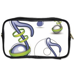 Notes Musical Elements Toiletries Bags 2 Side by Mariart