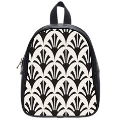 Parade Art Deco Style Neutral Vinyl School Bags (small)  by Mariart