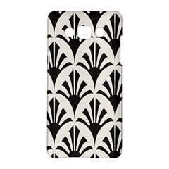 Parade Art Deco Style Neutral Vinyl Samsung Galaxy A5 Hardshell Case  by Mariart