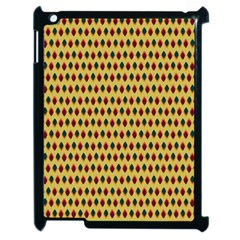 Points Cells Paint Texture Plaid Triangle Polka Apple Ipad 2 Case (black) by Mariart