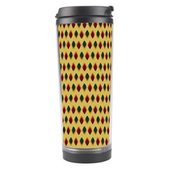 Points Cells Paint Texture Plaid Triangle Polka Travel Tumbler by Mariart