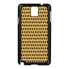 Points Cells Paint Texture Plaid Triangle Polka Samsung Galaxy Note 3 N9005 Case (black) by Mariart