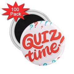 Question Mark Quiz Time 2 25  Magnets (100 Pack)  by Mariart