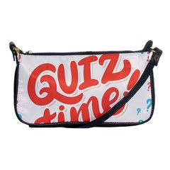 Question Mark Quiz Time Shoulder Clutch Bags by Mariart