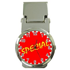 Special Sale Spot Red Yellow Polka Money Clip Watches by Mariart