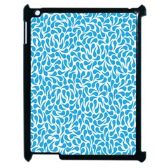 Pattern Blue Apple Ipad 2 Case (black) by Mariart