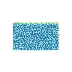 Pattern Blue Cosmetic Bag (xs) by Mariart