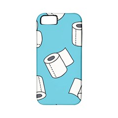 Roller Tissue White Blue Restroom Apple Iphone 5 Classic Hardshell Case (pc+silicone) by Mariart