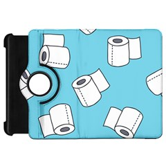 Roller Tissue White Blue Restroom Kindle Fire Hd 7  by Mariart