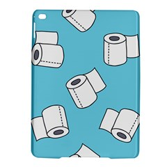 Roller Tissue White Blue Restroom Ipad Air 2 Hardshell Cases by Mariart