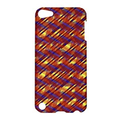 Linje Chevron Blue Yellow Brown Apple Ipod Touch 5 Hardshell Case by Mariart