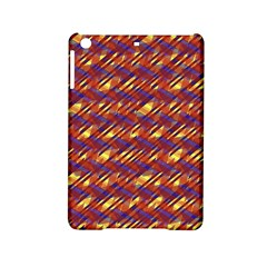 Linje Chevron Blue Yellow Brown Ipad Mini 2 Hardshell Cases by Mariart