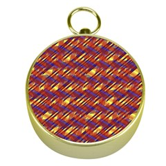 Linje Chevron Blue Yellow Brown Gold Compasses by Mariart