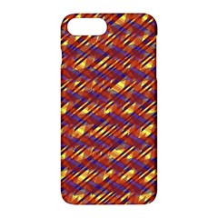Linje Chevron Blue Yellow Brown Apple Iphone 7 Plus Hardshell Case by Mariart