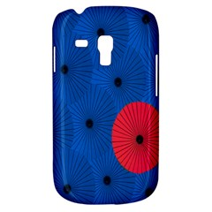 Pink Umbrella Red Blue Galaxy S3 Mini by Mariart