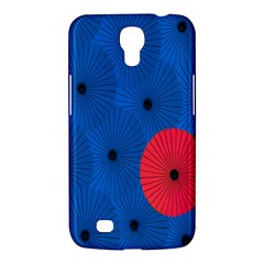 Pink Umbrella Red Blue Samsung Galaxy Mega 6 3  I9200 Hardshell Case by Mariart