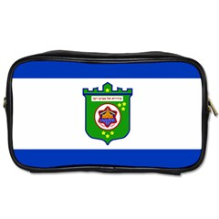 Flag Of Tel Aviv  Toiletries Bags 2 Side by abbeyz71
