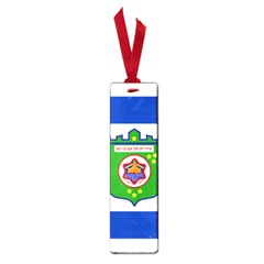 Flag Of Tel Aviv  Small Book Marks by abbeyz71