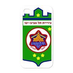 Tel Aviv Coat Of Arms  Apple Iphone 4 Case (white) by abbeyz71