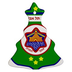 Tel Aviv Coat Of Arms  Christmas Tree Ornament (two Sides) by abbeyz71