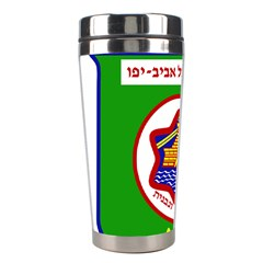 Tel Aviv Coat Of Arms  Stainless Steel Travel Tumblers by abbeyz71