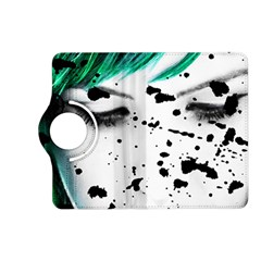 Beauty Woman Close Up Artistic Portrait Kindle Fire Hd (2013) Flip 360 Case by dflcprints