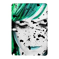 Beauty Woman Close Up Artistic Portrait Samsung Galaxy Tab Pro 10 1 Hardshell Case by dflcprints