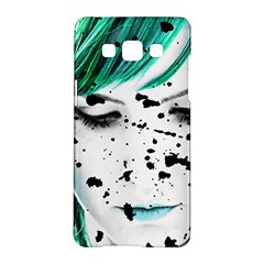 Beauty Woman Close Up Artistic Portrait Samsung Galaxy A5 Hardshell Case  by dflcprints