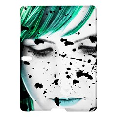 Beauty Woman Close Up Artistic Portrait Samsung Galaxy Tab S (10 5 ) Hardshell Case  by dflcprints