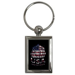 Usa Bowling  Key Chains (rectangle)  by Valentinaart