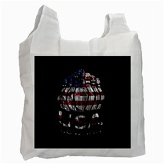 Usa Bowling  Recycle Bag (one Side) by Valentinaart