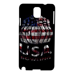 Usa Bowling  Samsung Galaxy Note 3 N9005 Hardshell Case by Valentinaart