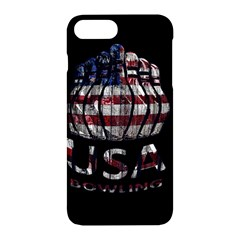 Usa Bowling  Apple Iphone 7 Plus Hardshell Case by Valentinaart