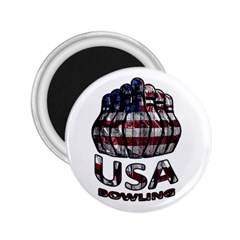 Usa Bowling  2 25  Magnets by Valentinaart