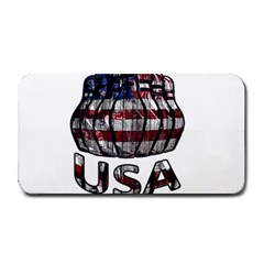 Usa Bowling  Medium Bar Mats by Valentinaart