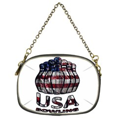 Usa Bowling  Chain Purses (one Side)  by Valentinaart