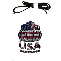 Usa Bowling  Shoulder Sling Bags by Valentinaart