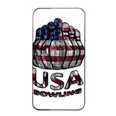 Usa Bowling  Apple Iphone 4/4s Seamless Case (black) by Valentinaart