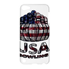 Usa Bowling  Apple Ipod Touch 5 Hardshell Case by Valentinaart