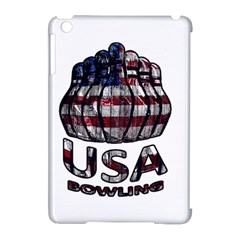 Usa Bowling  Apple Ipad Mini Hardshell Case (compatible With Smart Cover) by Valentinaart