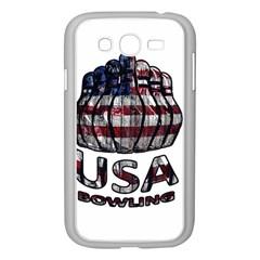 Usa Bowling  Samsung Galaxy Grand Duos I9082 Case (white) by Valentinaart