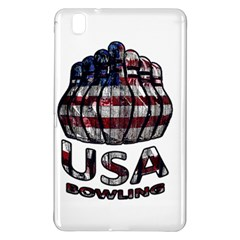 Usa Bowling  Samsung Galaxy Tab Pro 8 4 Hardshell Case by Valentinaart