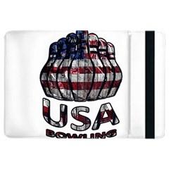 Usa Bowling  Ipad Air 2 Flip by Valentinaart