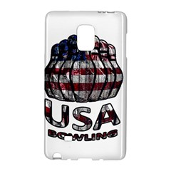 Usa Bowling  Galaxy Note Edge by Valentinaart