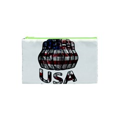 Usa Bowling  Cosmetic Bag (xs) by Valentinaart