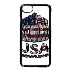Usa Bowling  Apple Iphone 7 Seamless Case (black) by Valentinaart