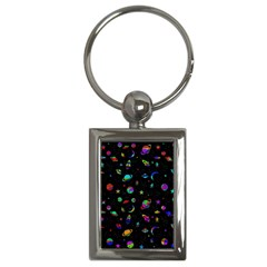 Space Pattern Key Chains (rectangle)  by Valentinaart