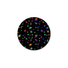 Space Pattern Golf Ball Marker (4 Pack) by Valentinaart