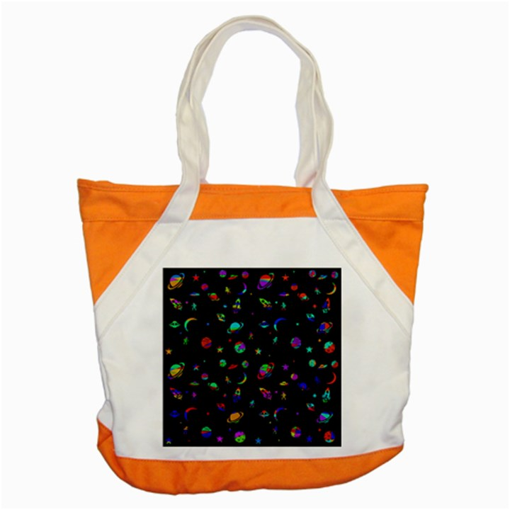 Space pattern Accent Tote Bag