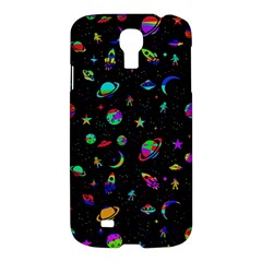 Space Pattern Samsung Galaxy S4 I9500/i9505 Hardshell Case by Valentinaart